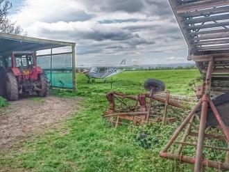 Farm strip, by John Boyce
