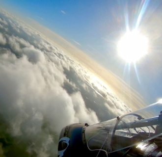 "Over Essex, by Tim Jerry. ""My second flight after lockdown 2, just inland from Walton-on-the-Naze,"" said Tim."